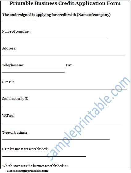 Business Credit Reference Check Template printable sle credit reference form form laywers