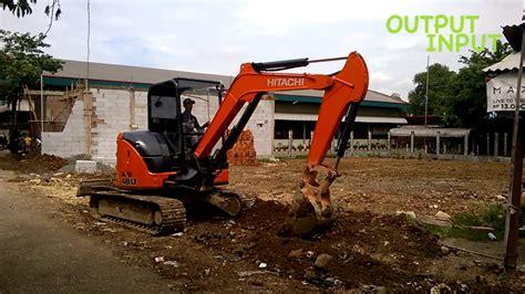 Alat Berat Beko kerja alat berat beko mini excavator