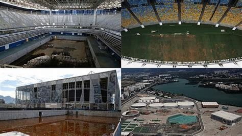 olympics then and now six months on rio olympic venues lie derelict watch the