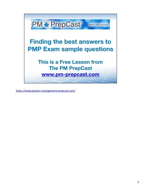 the pmp reference guide fifth edition test prep series finding the best answer to pmp 174 sle questions for