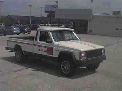 1986 jeep comanche 4x4 buy used 1986 jeep comanche xls 4x4 bed in