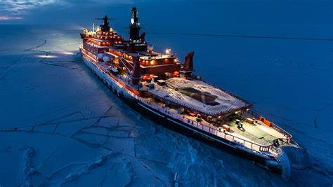 trimaran icebreaker nuclear icebreaker expedition to the north pole wordlesstech