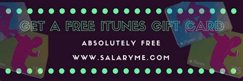 Ways To Get Free Itunes Gift Cards - 3 awesome ways to get free itunes gift card free salaryme com