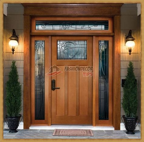 Stylish Front Door Stylish Wooden Front Door Designs Fashion Decor Tips