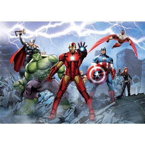 Marvel Comics Wall Mural marvel comics and avengers wallpaper wall murals d 201 cor