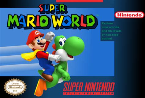 Hacks For Home Design Game by Super Mario World Snes Box Art Cover By Guerrini