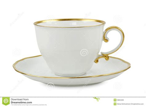 Cup With Plate tea cup with plate royalty free stock images image 5884409