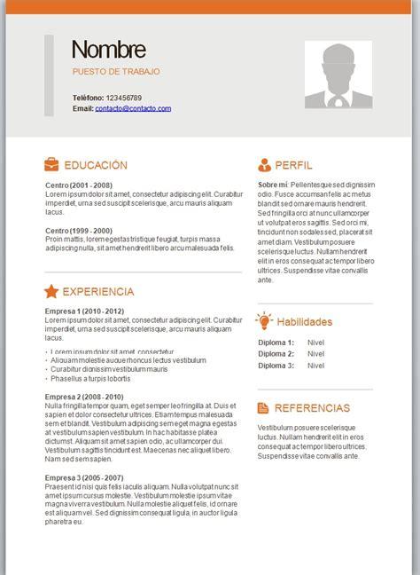 Modelo Curriculum Sencillo Con Foto Foto Curriculum 10 Trabajemos