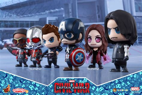 Figure Cosb Aby Cosb 253 Captain America Civil War Black Panther toys cosb256 captain america civil war team captain america collectible set of 6