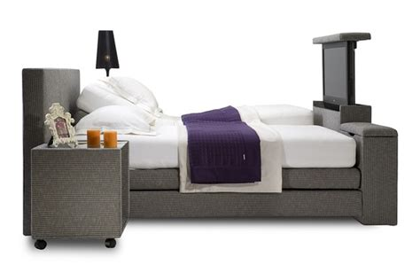 Bed With Tv Stand In Footboard by Beds