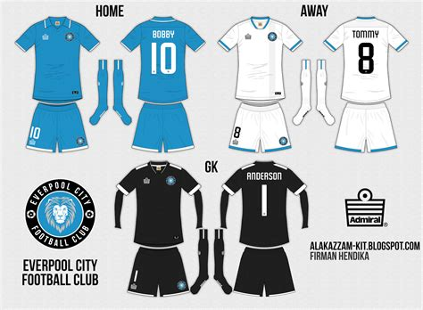 Jersey Go Mu Home Tahun 2011 everpool city fc home away gk kits admiral