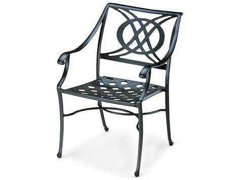 Telescope Casual Cadiz Cast Aluminum Stacking Arm Chair 7370 Aluminum Stacking Patio Chairs