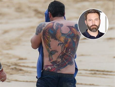 ben affleck tattoo removal ben affleck tattoos the town
