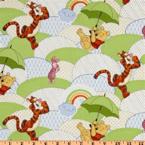 Winnie The Pooh Quilting Fabric by Winnie The Pooh Discount Designer Fabric Fabric