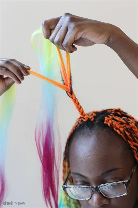 how to braid extensions into your hair how to braid twists into afro hair without going to a salon