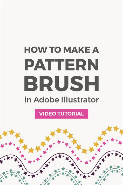 edit pattern brush illustrator how to make a seamless pattern brush in illustrator elan