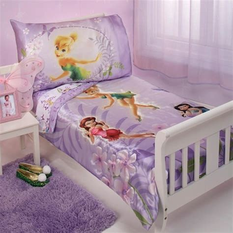 Tinkerbell Bedroom Set For Toddler by Tinkerbell 4pc Toddler Bedding Set Aubree Karmen Bed