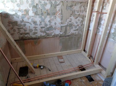 Converted a Bathroom To An Easy Access Walk In Shower Room