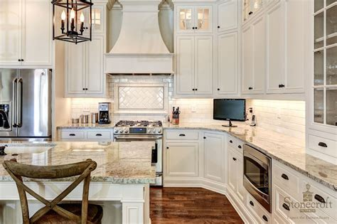 bright white kitchen with bronze hardware pictures to pin island with shelves transitional kitchen stonecroft