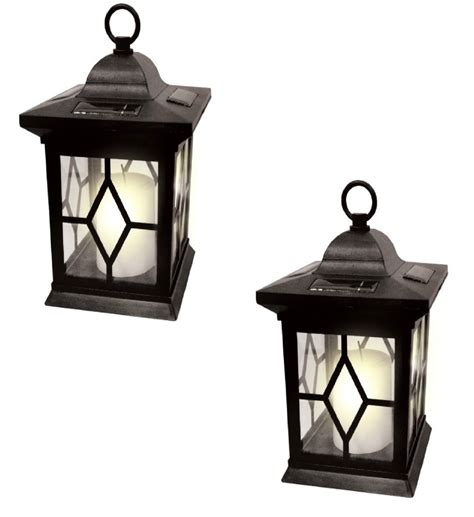 solar led candle l lantern table l led lantern by ashland 174 garden solar