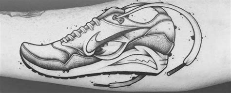 nike tattoo designs 60 nike designs for athletic sneaker ink ideas