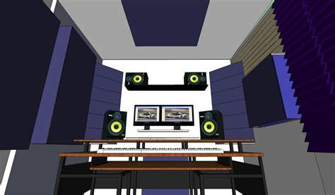 home studio wall design need advices acoustic treatment positioning please help