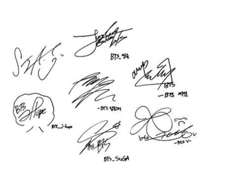bts signature wallpaper bts army s amino