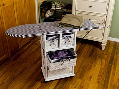portable ironing board cabinet corner housewares portable ironing board center 29 quot tall