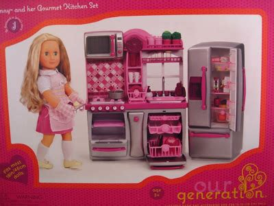 Kitchen Accessories For 18 Inch Dolls Room Ornament 18 Doll Kitchen Set
