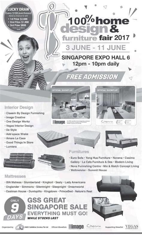 100 Home Design Furniture Fair by 100 Home Design Amp Furniture Fair 2017 At Singapore Expo