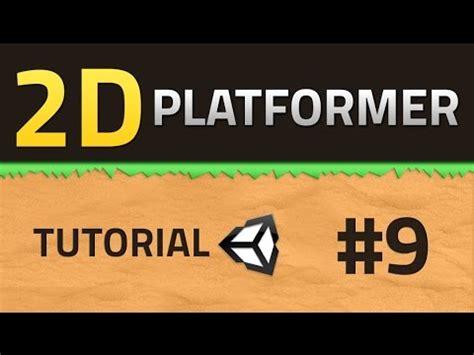 unity 2d platformer tutorial 9 how to make a 2d platformer bullet trail unity