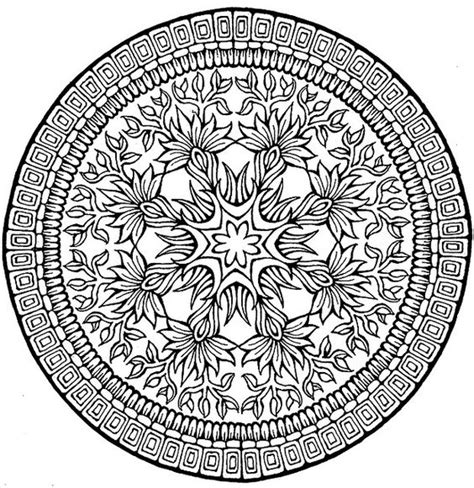 Complex R Coloring Pages Coloring Book Pages Mandala Complex Mandala Coloring Pages
