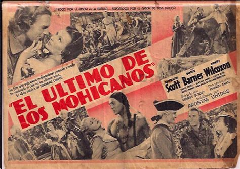 el ltimo argumento de 8420676047 quot el ultimo de los mohicanos quot movie poster quot the last of