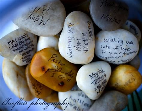 Wedding Wishes Rocks by Wedding Rocks