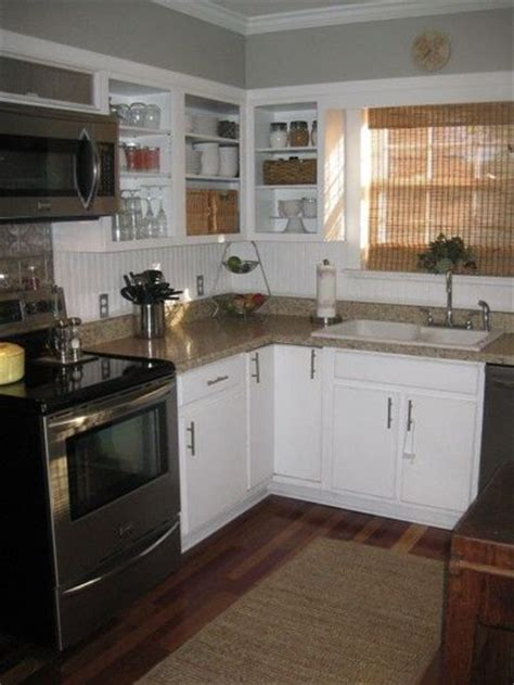 white cabinets grey walls white cabinets with grey walls beadboard splash for my