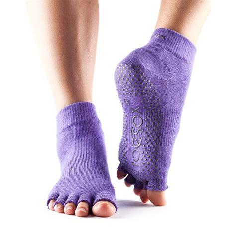 Toe Half Socks toesox half toe ankle grip socks