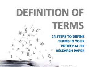 Define Report Writing In Research by Research Or Writing Definition Of Terms