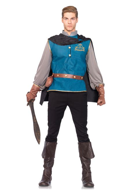 in costume storybook prince costume