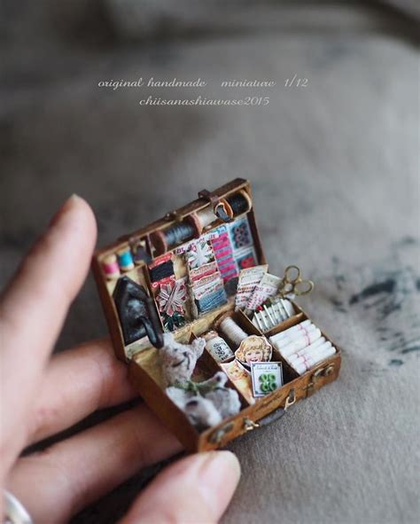 Handmade Miniatures - of two wakes up at 4 am to create 18th century