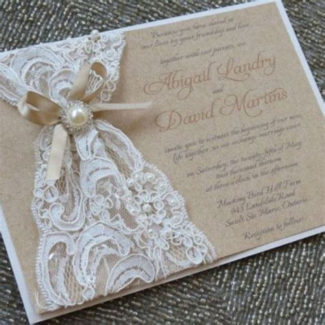 Cheap Wedding Invitation Ideas