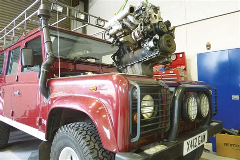 land rover defender engine the best defender engines auto express