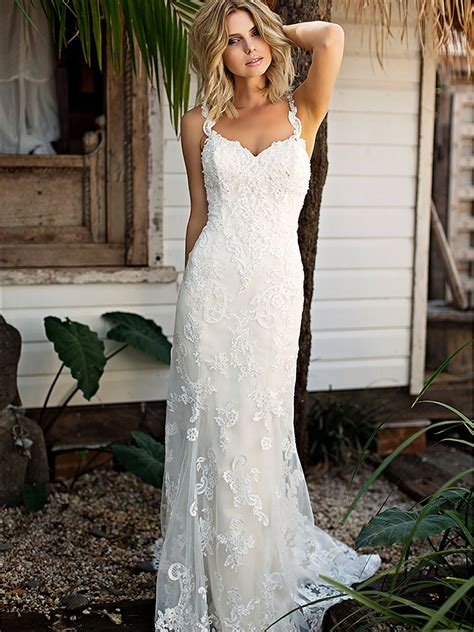 17769 Lace Low Back shantelle wedding dress bridal formal