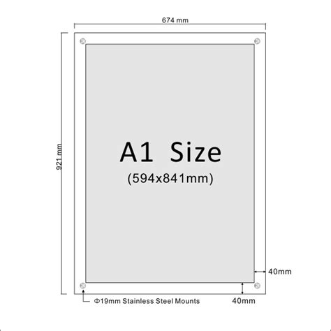 design poster size a1 image gallery size a1