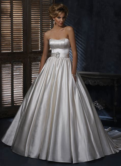 Wedding Gown Satin by Wonderful Satin Wedding Dresses Sang Maestro