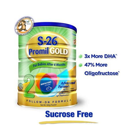 S26 Promil Gold 900 G wyeth s26 promil gold stage 2 followon formula 900g