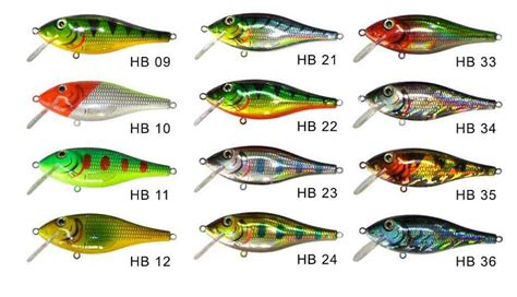 Color Pattern Lure   color patterns for crank baits with laser film