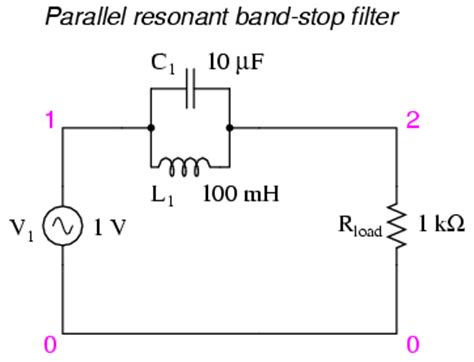 inductor stop ac building a simple inductor bandstop filter