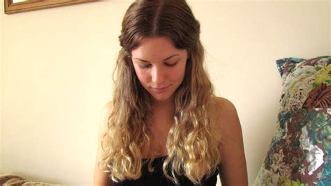 blonde ombre hair color tutorial youtube diy ombre hair tutorial and results from blonde youtube
