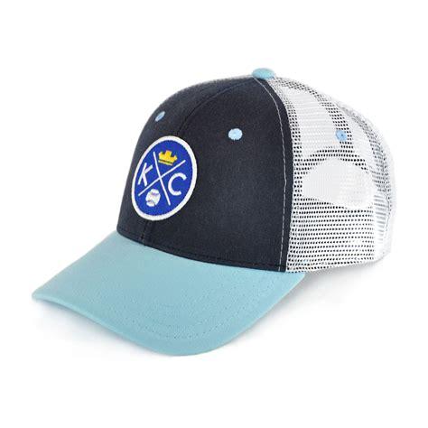 kcmo crown baseball trucker hat