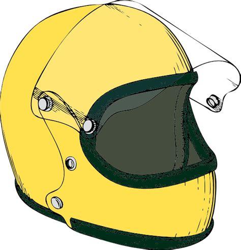 helmet clip crash helmet clip at clker vector clip